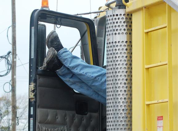 How do truck drivers get a good night's sleep?