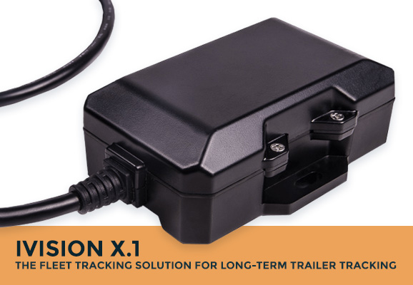 iVision X.1: The fleet tracking solution for long-term trailer tracking