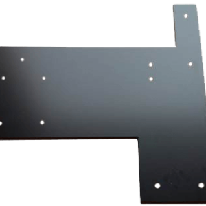 Universal No Drill Edge Floor Plate